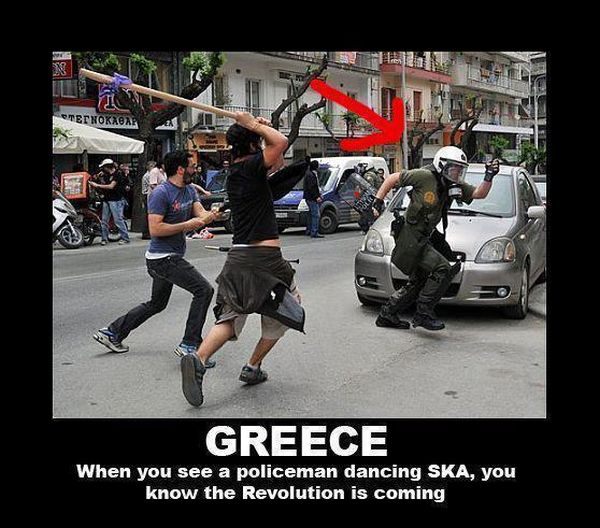 Greece - Military humor