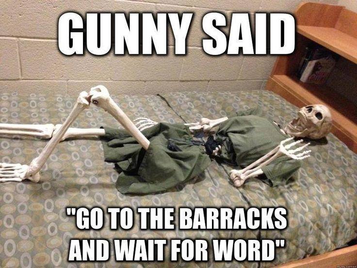 Gunny Said - Military humor