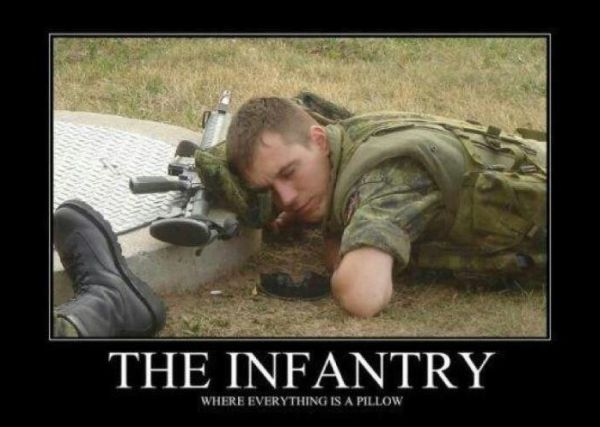 The Infantry - Military humor