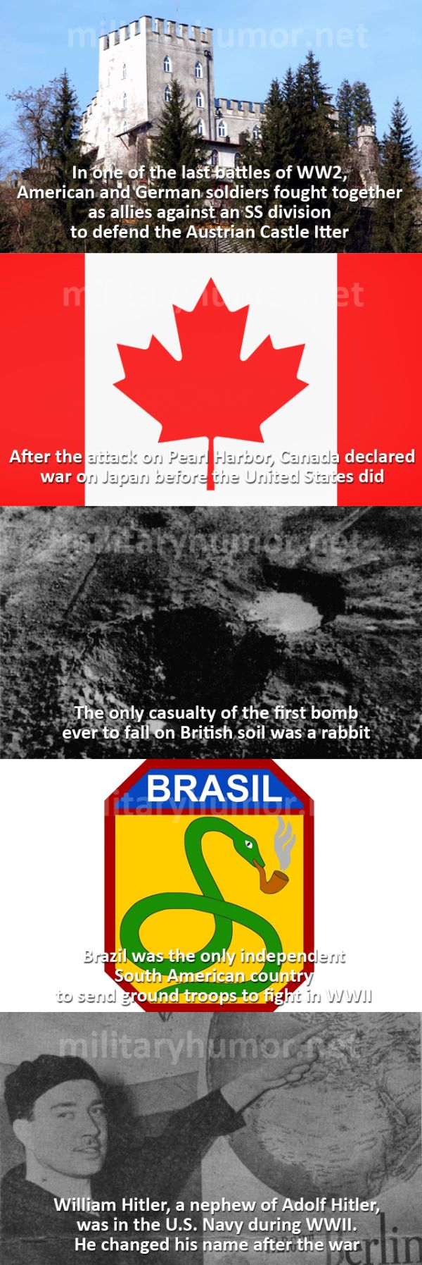 Interesting WWII Facts - Military humor