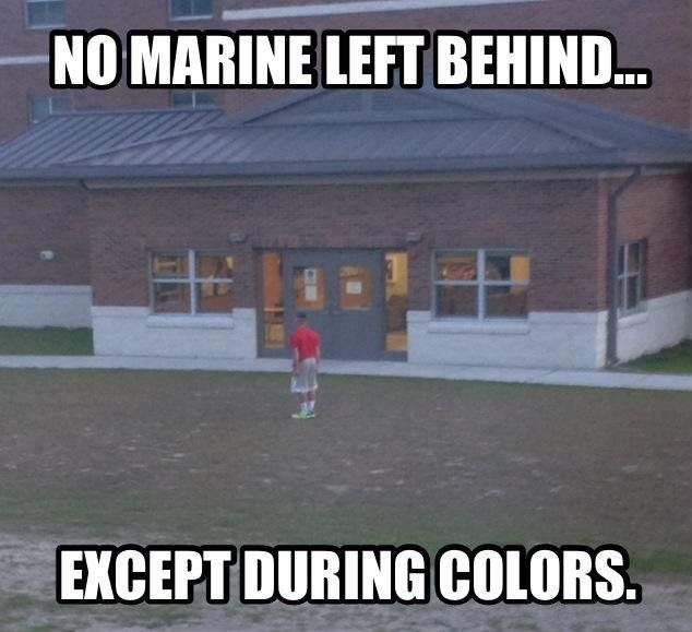 No Marine Left Behind - Military humor