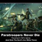 Paratroopers Never Die