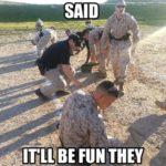 Shoot Guns They Said…