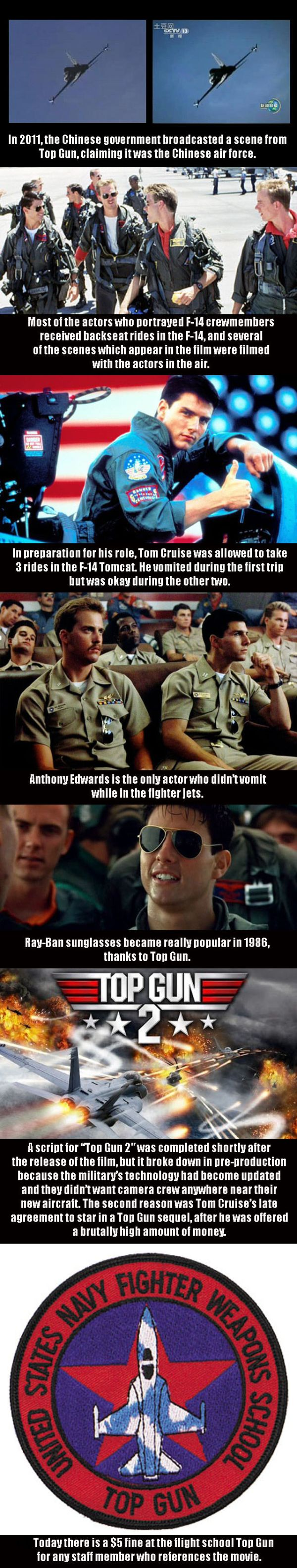 Top Gun Movie Trivia - Military humor