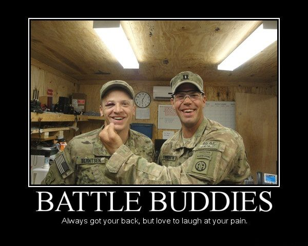 Battle Buddies - Military humor