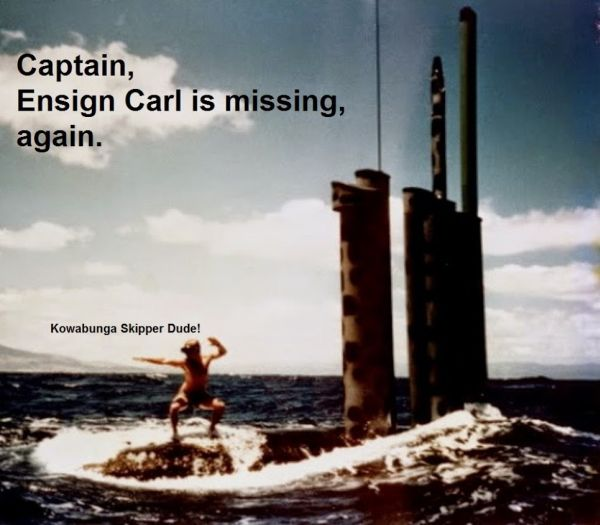 Ensign Carl Is Missing - Military humor