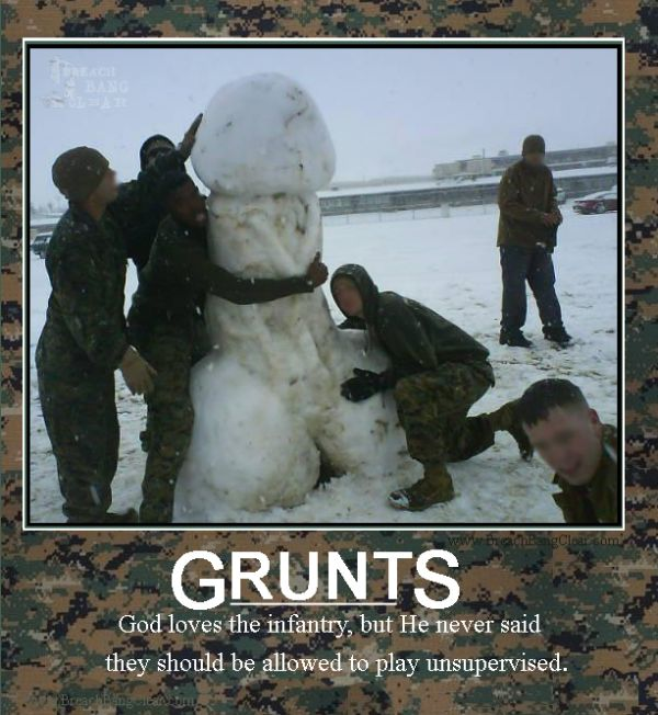 Grunts - Military humor