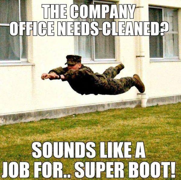 Sounds Like A Job For... - Military humor