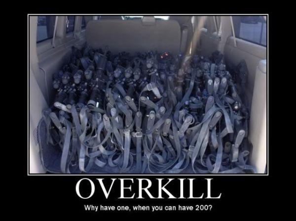 Overkill - Military humor