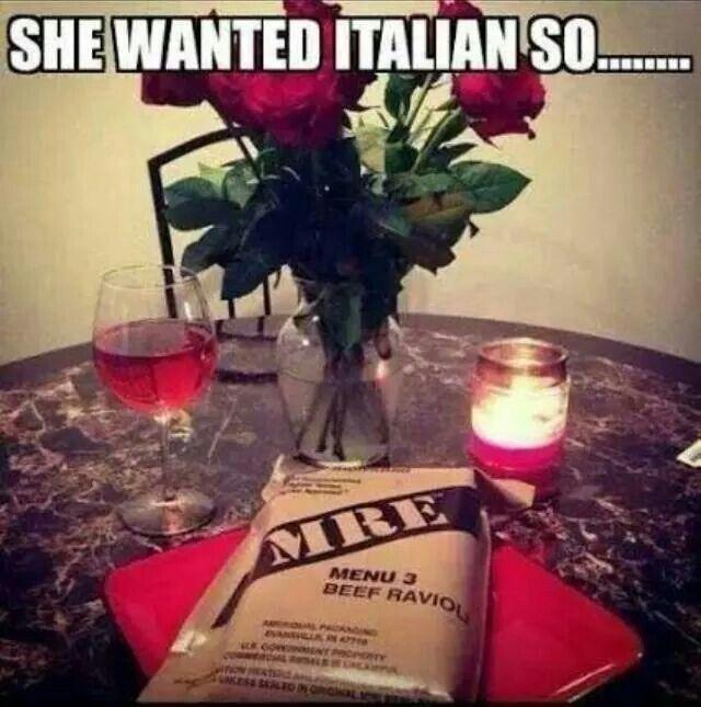 Romantic Dinner Army S...