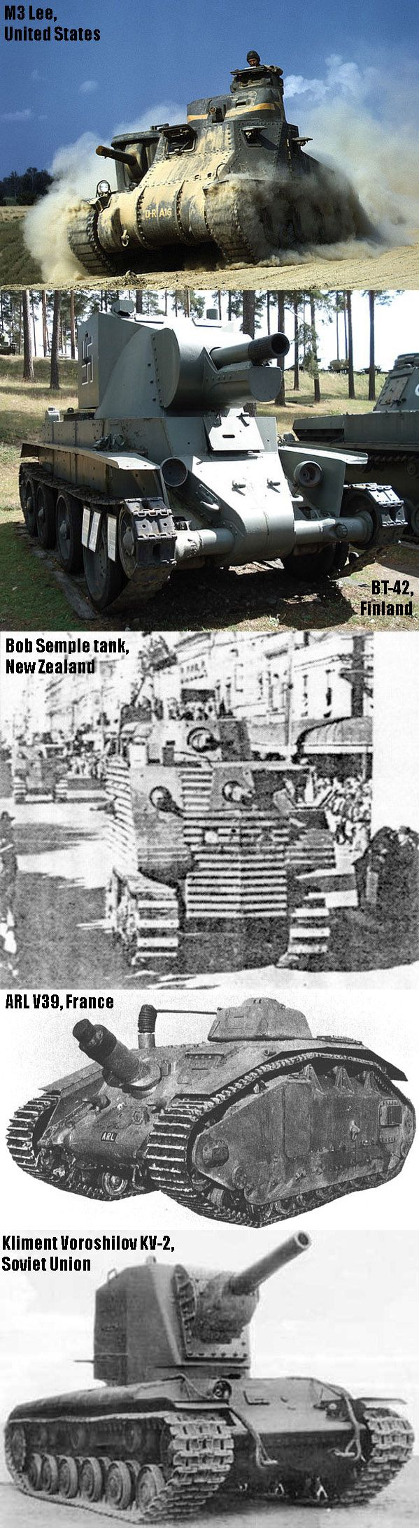 The Ugliest Tanks Of World War II - Military humor