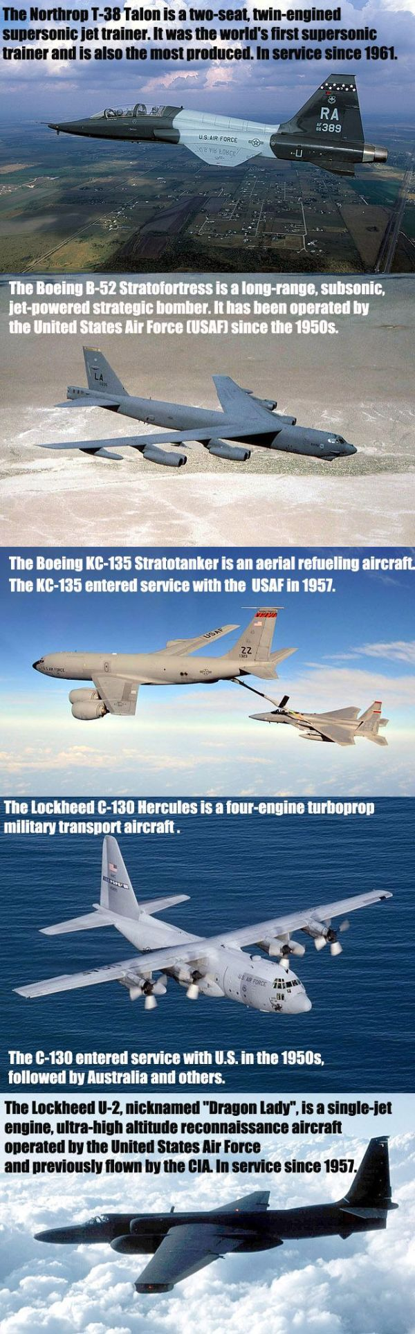 5 Aircraft That Served Over Half A Century In USAF - Military humor