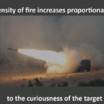 Density Of Fire Increases Proportionally To…