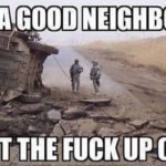 Like A Good Neighbor
