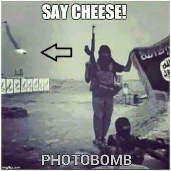Say Cheese! - Military humor