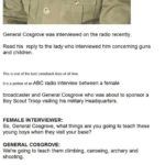 An Interview With General Cosgrove