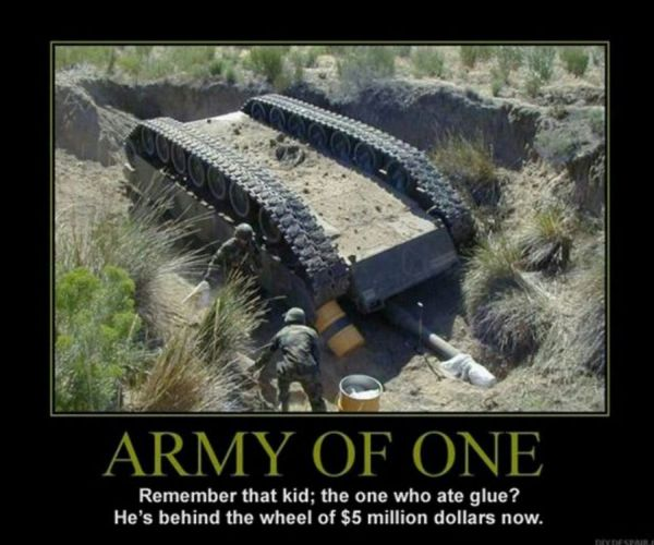 Army Of One - Military humor