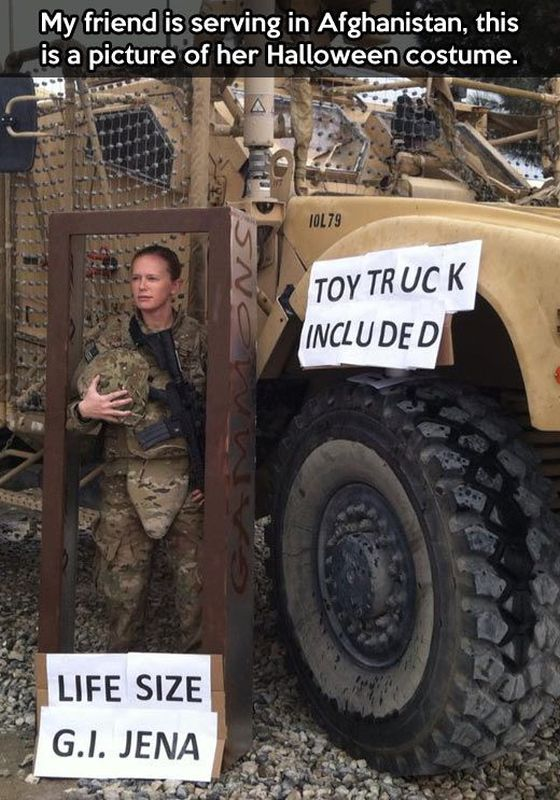 The Best Halloween Costume - Military humor