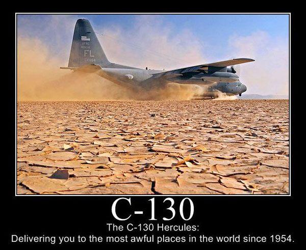 C-130 Hercules - Military humor