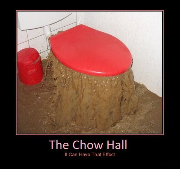 The Chow Hall Effect - Military humor