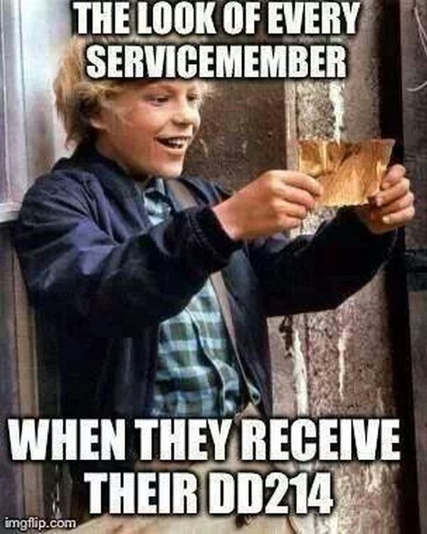 The Look Of Every Servicemember - Military humor