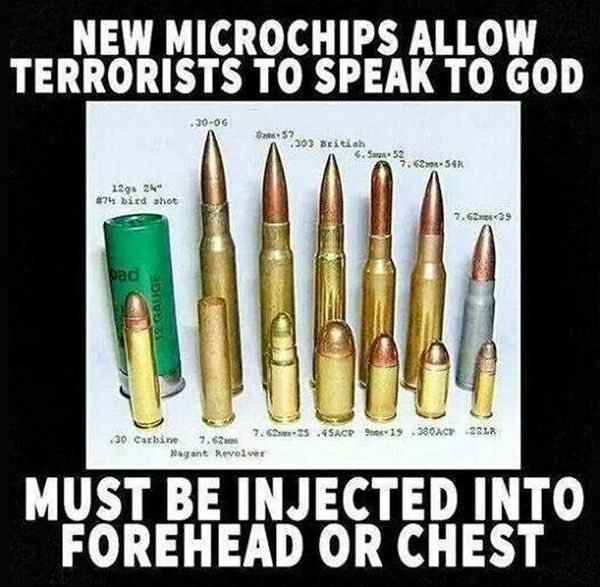 New Microchips Allow Terrorists to Speak to God - Military humor