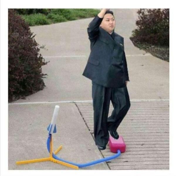 North Korea Nuclear Missile Firing - Military humor