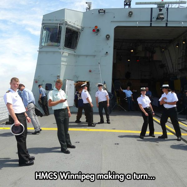 Someone Must Be Playing Smooth Criminal - Military humor