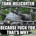 Tank Helicopter