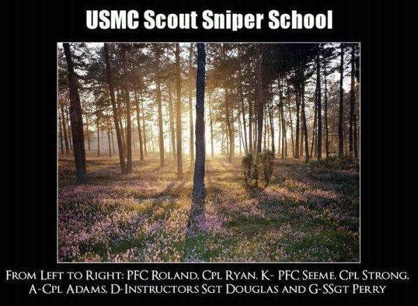 USMC: Scout Sniper School - Military humor