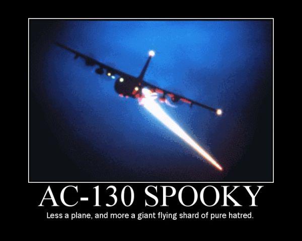 AC-130 Spooky - Military humor