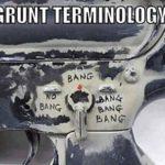 Grunt Terminology