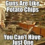 Guns Are Like Potato Chips