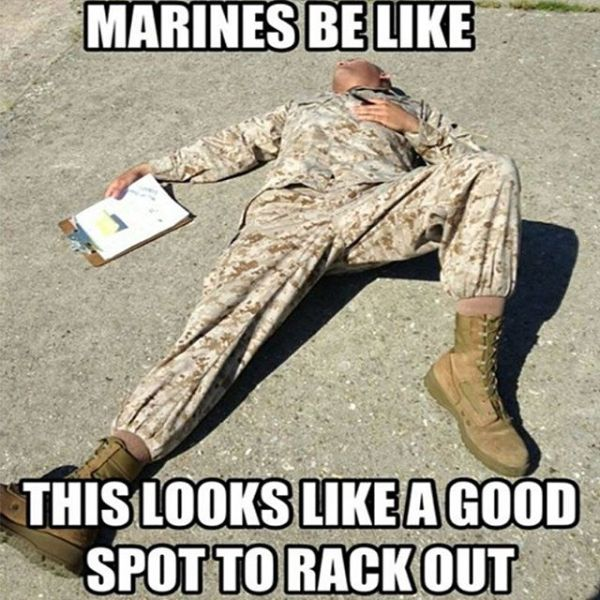 Marines Be Like - Military humor