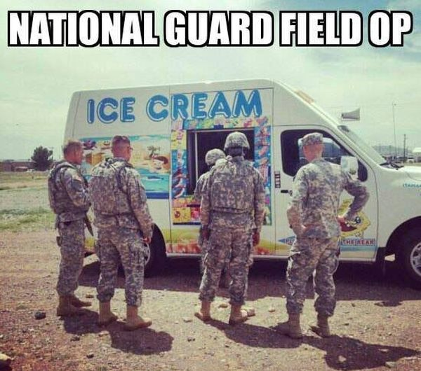 National Guard Field Ops - Military humor