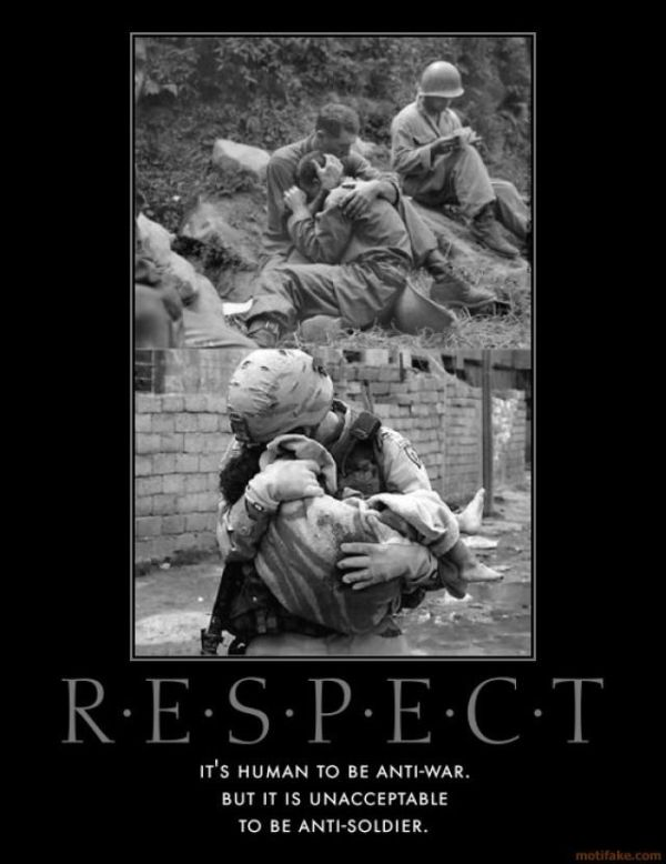Respect - Military humor