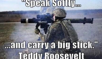 Speak Softly…