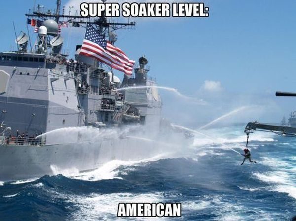 Super Soaker - Military humor
