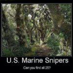 U.S. Marine Snipers