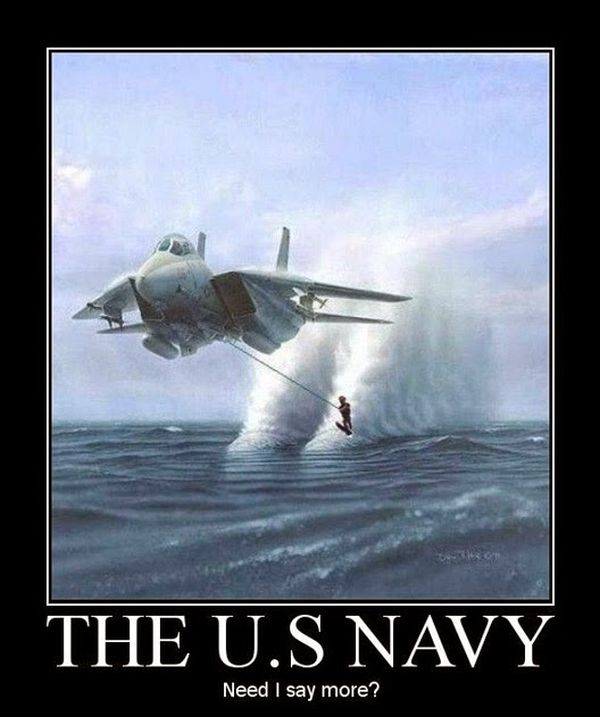 The US Navy - Military humor