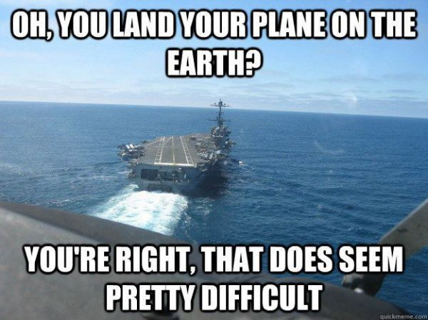 That Does Seem Pretty Difficult - Military humor