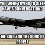 Oh, You Were Trying To Sleep Or Have A Conversation?