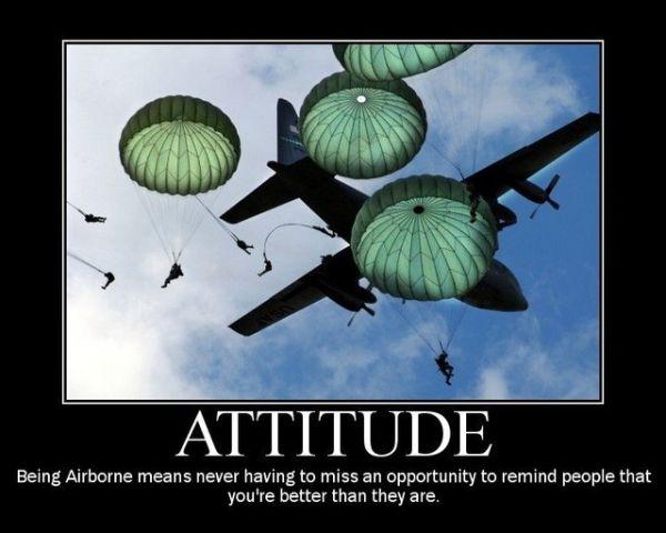 Attitude - Military humor
