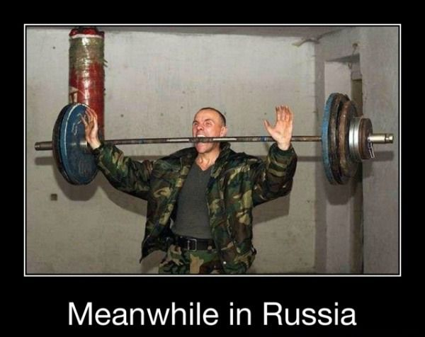 meanwhile in russia military humor