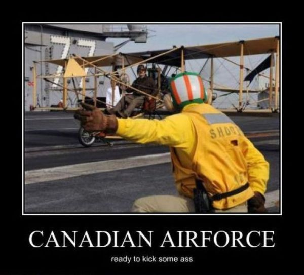 Canadian Air Force - Military humor