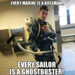 Every Marine Is A Rifleman…