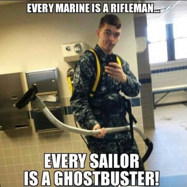 Every Marine Is A Rifleman... - Military humor