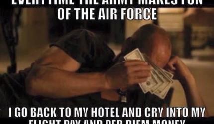 Air Force Making Fun Of Marines