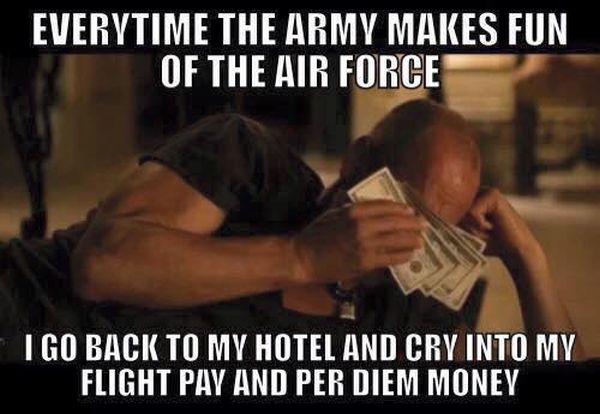 Every Time Army Makes Fun OF The Air Force - Military humor