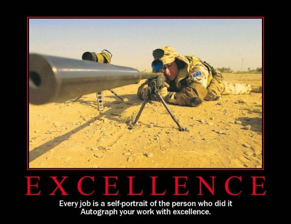 Excellence - Military humor